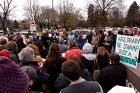 Protest at Senator Toomey's Allentown Office 01.24.17